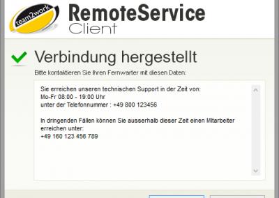 RemoteService Client ohne Authentifizierung