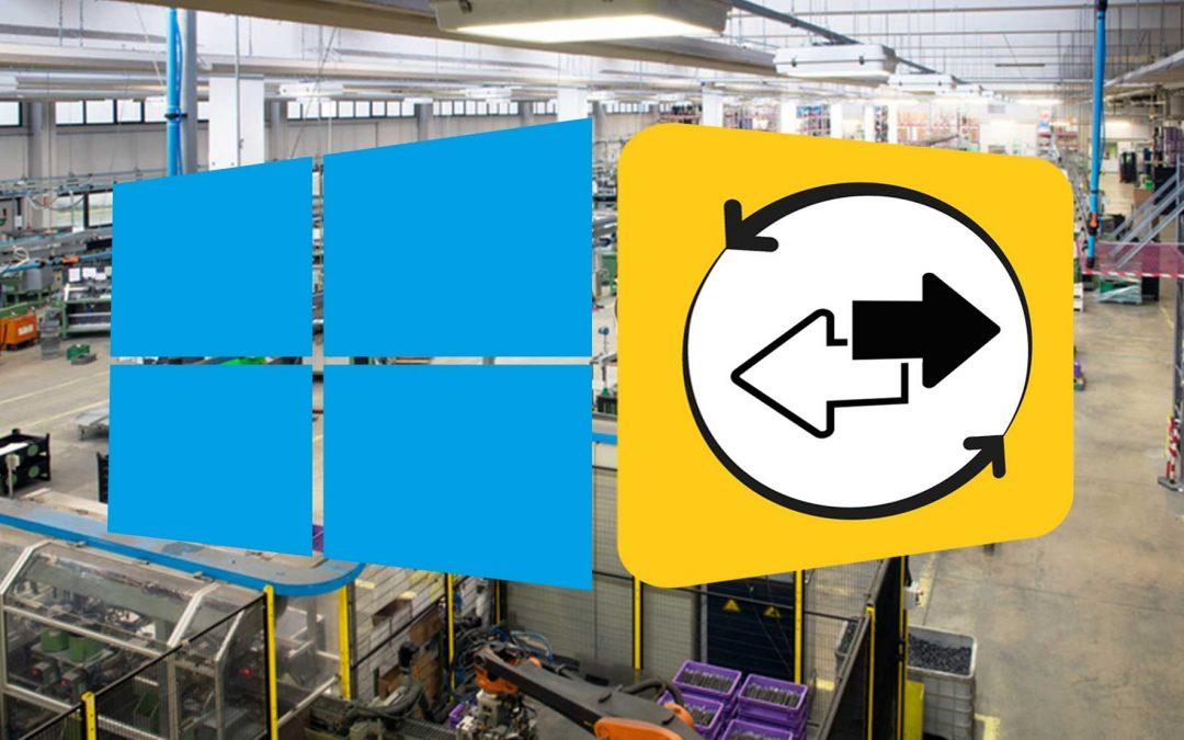RemoteService Fernwartungsclient unterstützt Windows EC 2013