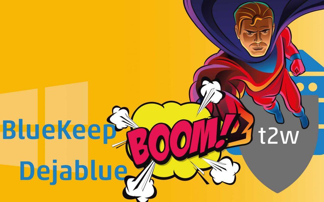 Neue kritische Sicherheitslücke bei Windows – DejaBlue: der SEC-Stick-Server ist wieder der einzige Schutz.