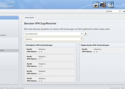VPN-Zuordnung